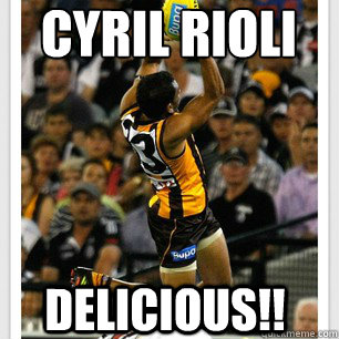 cyril rioli Delicious!!