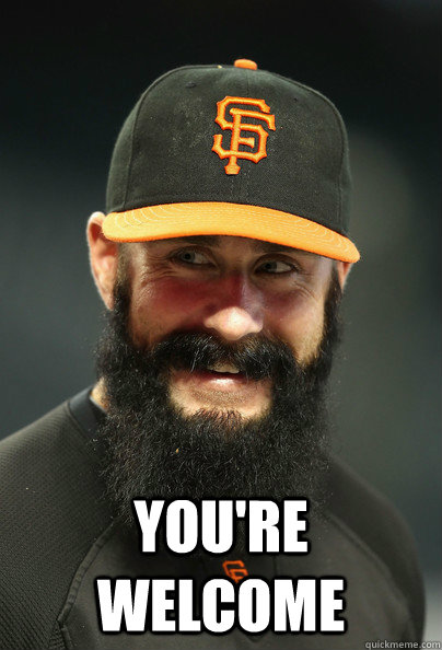 You're Welcome  Brian Wilson