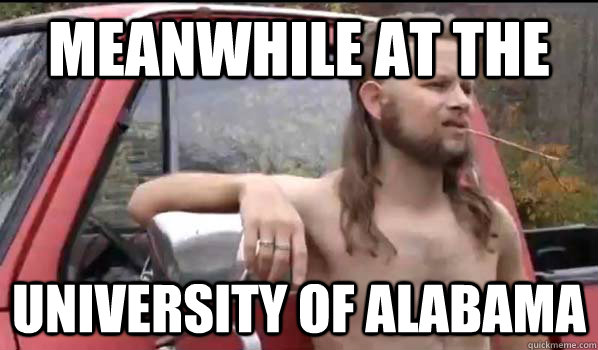 university of alabama gay study