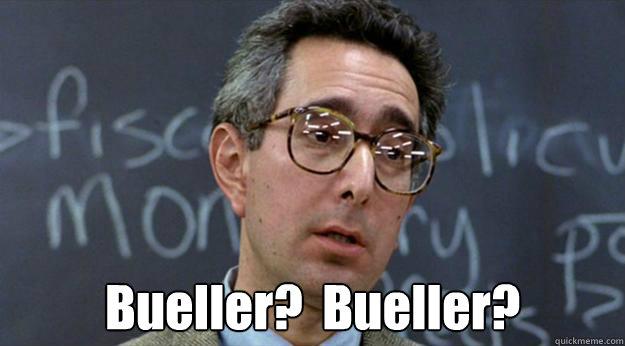 Image result for bueller meme