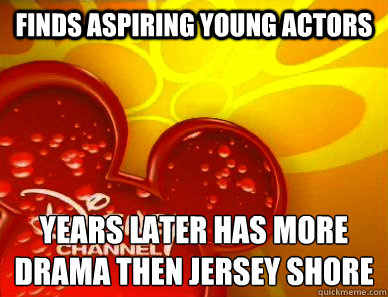 finds aspiring young actors years later has more drama then jersey shore