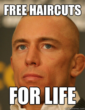 free haircuts for life
