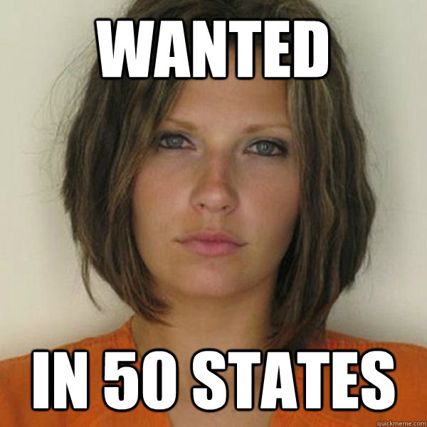WANTED in 50 states - WANTED in 50 states  Attractive Convict
