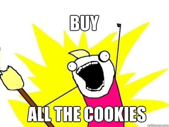 buy all the cookies