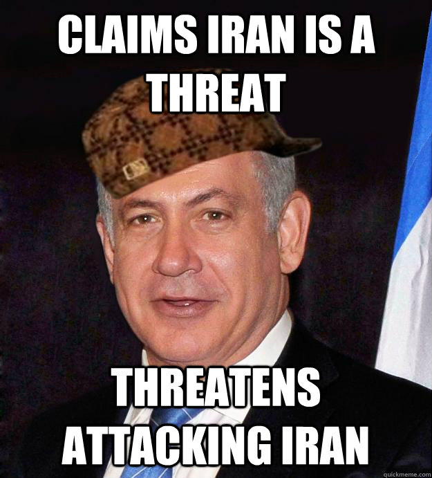 Claims Iran is a Threat Threatens attacking iran