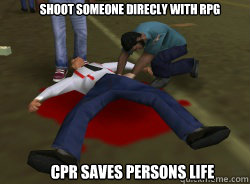 shoot someone direcly with rpg Cpr saves persons life - shoot someone direcly with rpg Cpr saves persons life  Misc