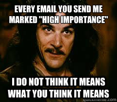 EVERY EMAIL YOU SEND ME MARKED