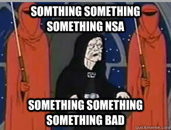 Somthing something something NSA Something something something bad - Somthing something something NSA Something something something bad  Misc