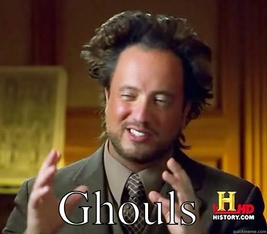 Tokyo ghoul - GHOULS Ancient Aliens