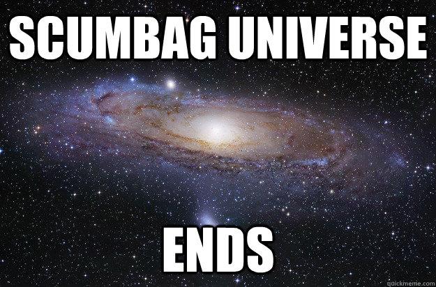 Scumbag Universe Ends - Scumbag Universe Ends  Misc