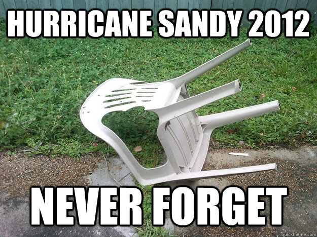 Hurricane Sandy 2012 Never Forget