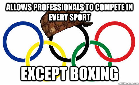 allows professionals to compete in every sport except boxing