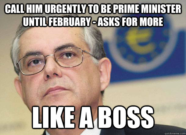 Call him urgently to be Prime Minister until February - Asks for more LIKE A BOSS  Scumbag Luke