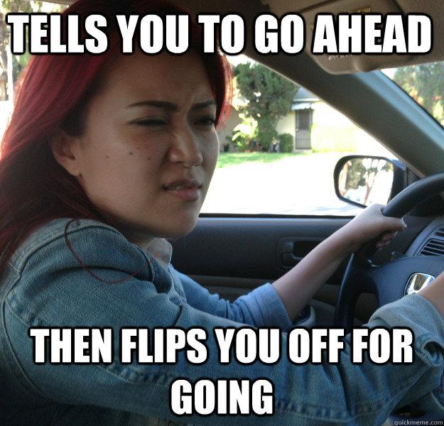 asian driver family guy meme
