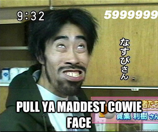Evil Wolf Face Pull Ya Maddest Cowie ...
