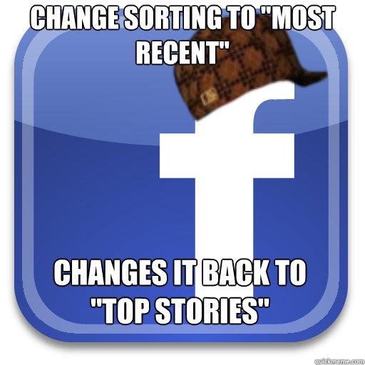 Change sorting to