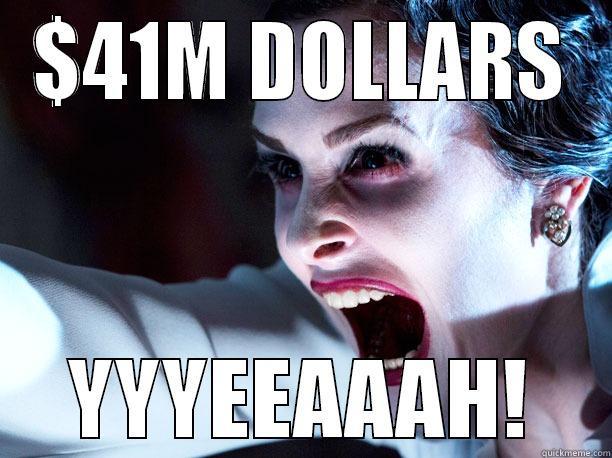 $41M DOLLARS YYYEEAAAH! Misc