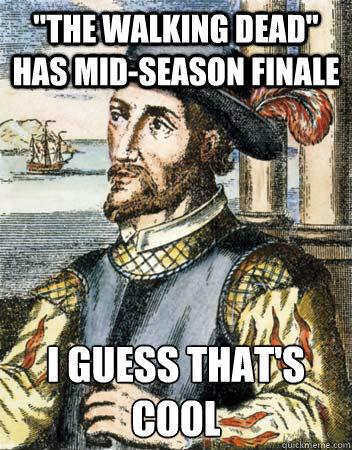 quot the walking dead quot has mid season finale i guess that s