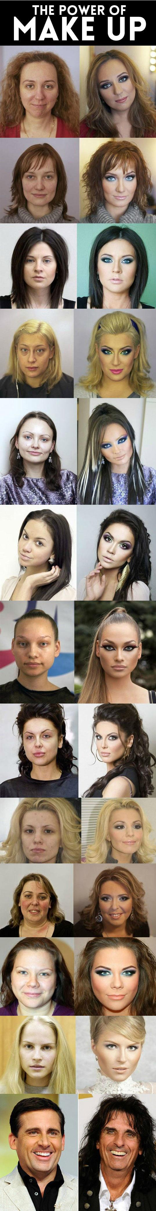 Makeup Can Do Wonders... -   Misc