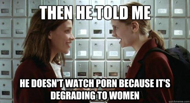 Porn Is Degrading