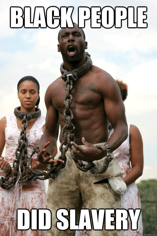 Did People Actually Wear These Things: Black People Did Slavery