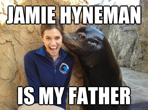 Jamie Hyneman is my father - Jamie Hyneman is my father  Crazy Secret