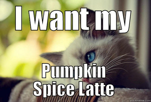 Image result for pumpkin spice latte funny