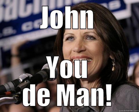 JOHN YOU DE MAN! Bad Memory Michelle