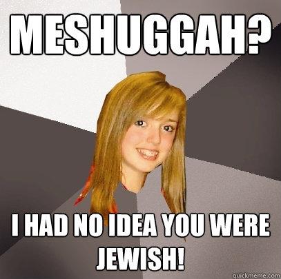 Meshuggah? I had no idea you were Jewish!  Musically Oblivious 8th Grader