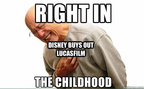 Disney buys out Lucasfilm  -  Disney buys out Lucasfilm   Misc