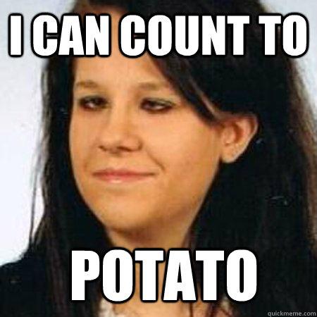 i can count to  potato - i can count to  potato  Misc