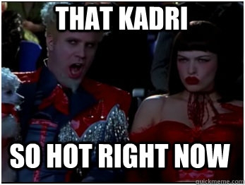 so hot right now that kadri - so hot right now that kadri  So Hot Mugatu
