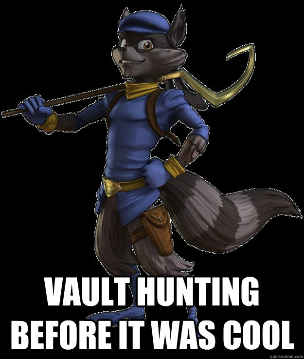 Vault Hunting Before it wAS cool