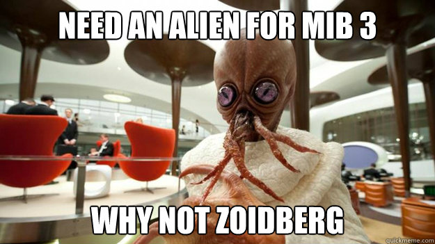 need an alien for mib 3 why not zoidberg - need an alien for mib 3 why not zoidberg  mib3 zoidberg