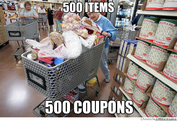 500 Items 500 Coupons
