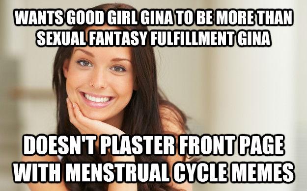 Good girl gina meme impossible