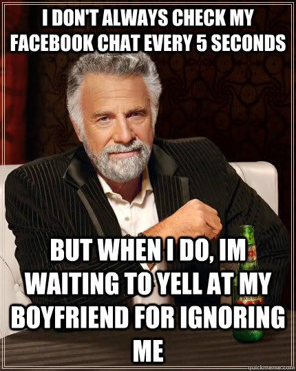 why is my boyfriend ignoring me