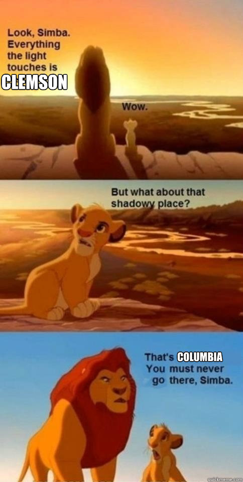 Clemson Columbia - Clemson Columbia  Everything the Light Touches