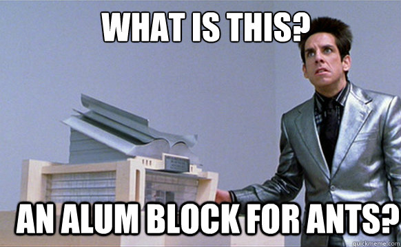 What is this? An alum block for ants?  Zoolander
