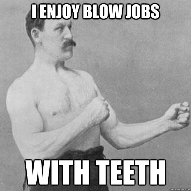 Consider, that Blow job with a tooth pain pity, that