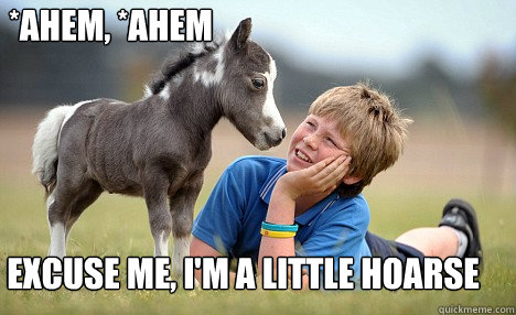 *Ahem, *Ahem Excuse me, I'm a little Hoarse - *Ahem, *Ahem Excuse me, I'm a little Hoarse  Misc