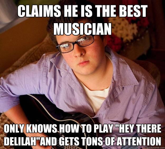 Scumbag Mediocre Teen Musician Memes Quickmeme