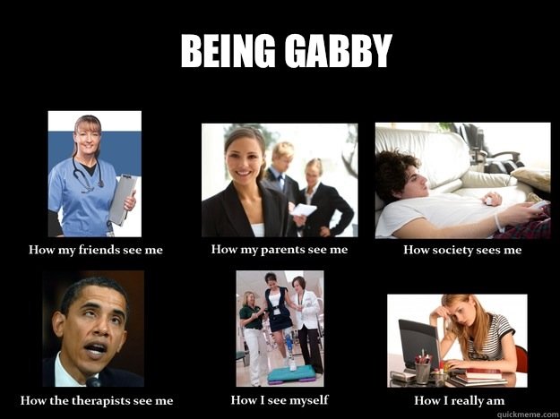 Being Gabby  How they see me
