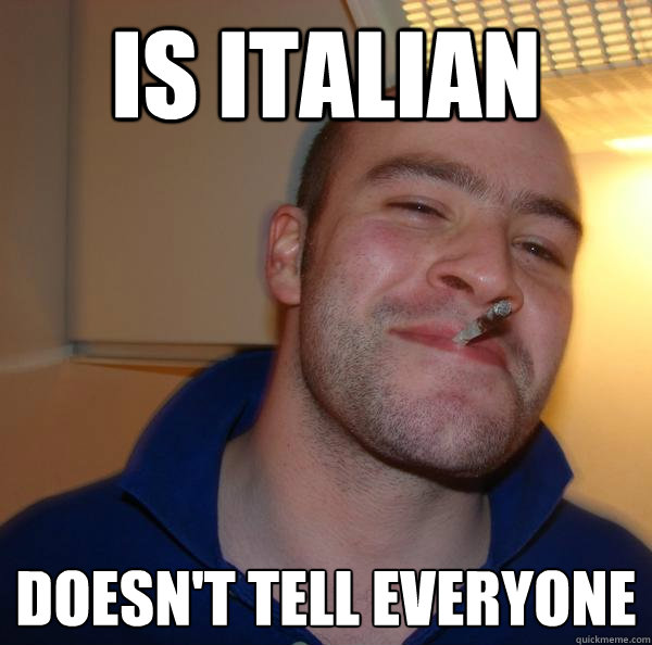 is italian doesn't tell everyone  - is italian doesn't tell everyone   Misc