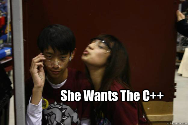 She Wants The C++ - She Wants The C++  Programmer Phil