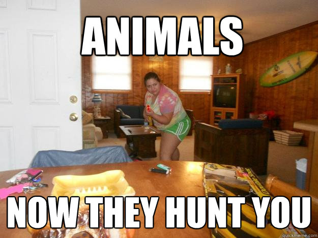 fat chick hunting memes   quickmeme
