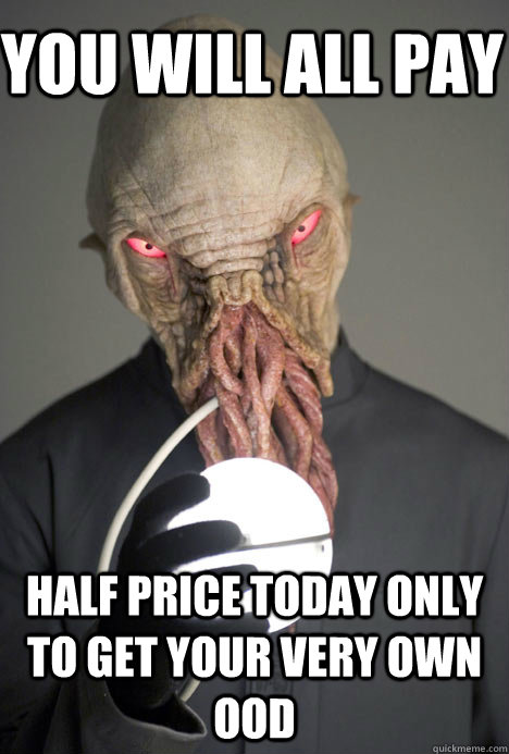 you will all pay half price today only to get your very own ood  Dating Site Murderer Ood