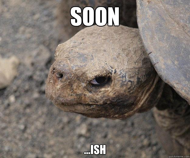 Soon ...ish