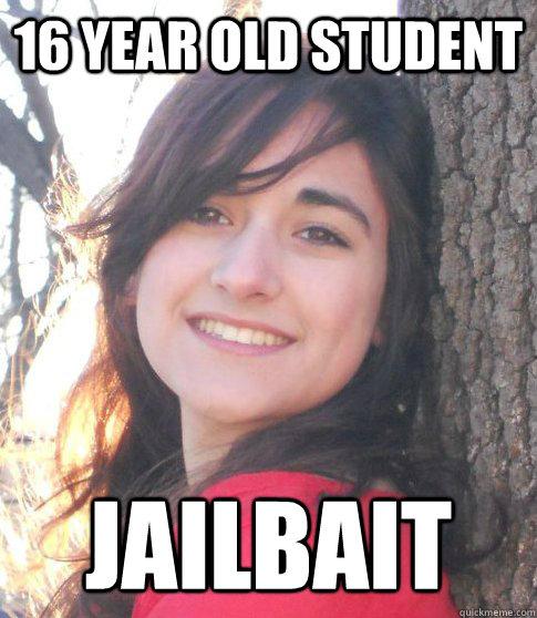 16 year old student jailbait
