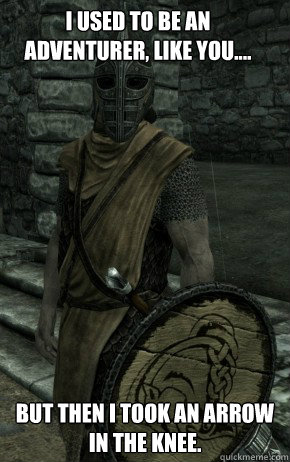 Skyrim Guard memes | quickmeme